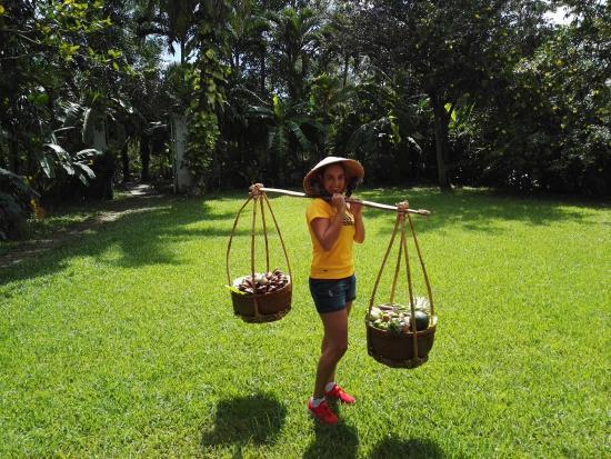 Le Longanier: Foto en el jardin