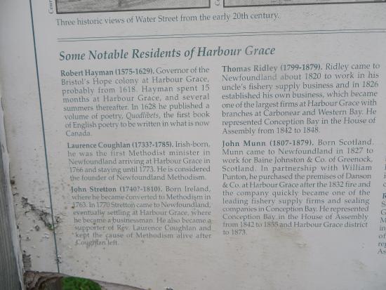 Harbour Grace, Kanada: More information