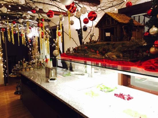 Outlet Weihnachtsdeko.Weihnachtsdeko Im Restaurant Freihof Picture Of Restaurant