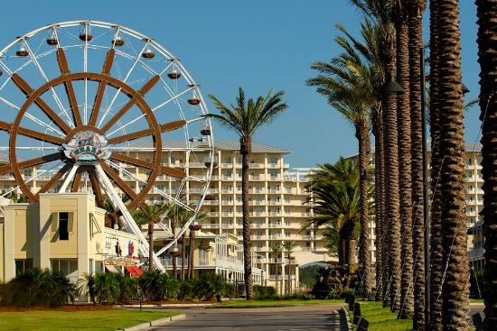 Wharf Ferris Wheel Entrance At The