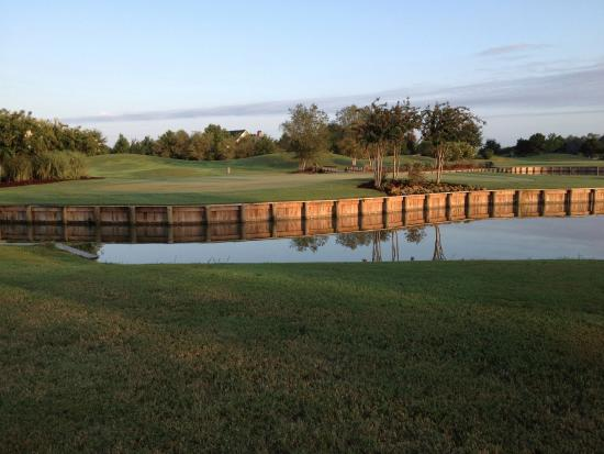 Koasati Pines at the Coushatta Casino Resort: Island hole