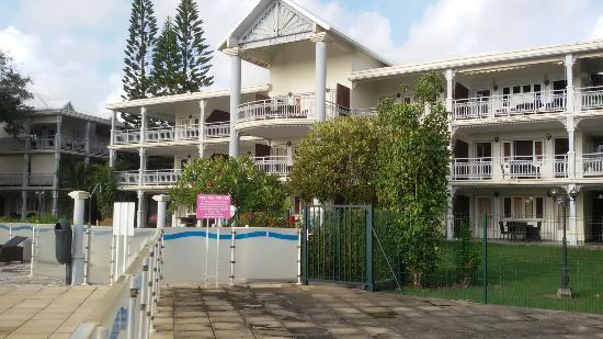 Résidence La Plantation & Spa: Hotel 4* non non 😠