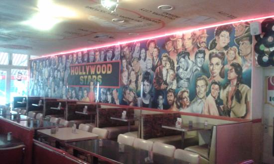 The Sixties Diner: Eating area