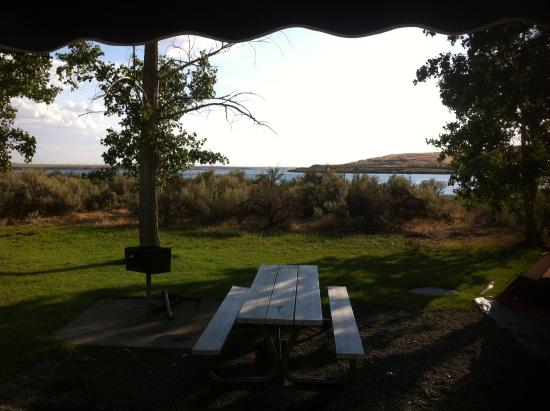Hood River, OR: Camping at the East in of the Gorge