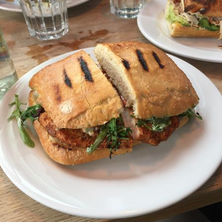Juniors: Chargrilled Chicken Bocadillo