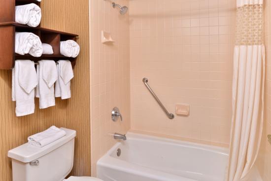 Hampton Inn Denver West Federal Center: Guest Bath