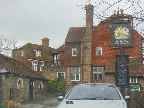 The Kings Arms - Rotherfield: The front.