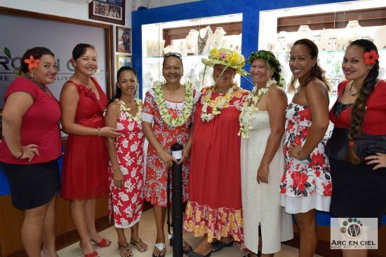 Arc En Ciel Bora-Bora : Une visite très appréciée, Merci!