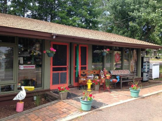 La Pointe, WI: Dockside Gifts - Located on the Ferry Dock - Madeline Island