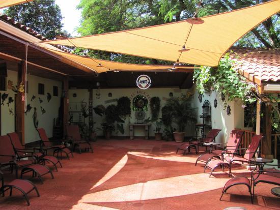 Плайя-Гранде, Коста-Рика: patio area
