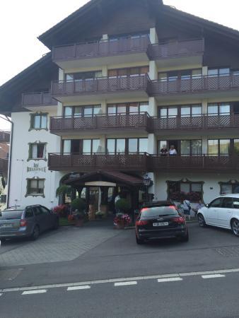 Seelisberg, Schweiz: Front of hotel