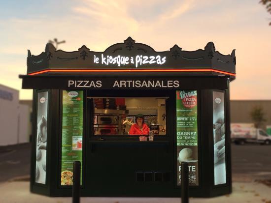 Carte Kiosque A Pizza.Carte Du Kiosque Picture Of Le Kiosque A Pizzas La Teste La Teste
