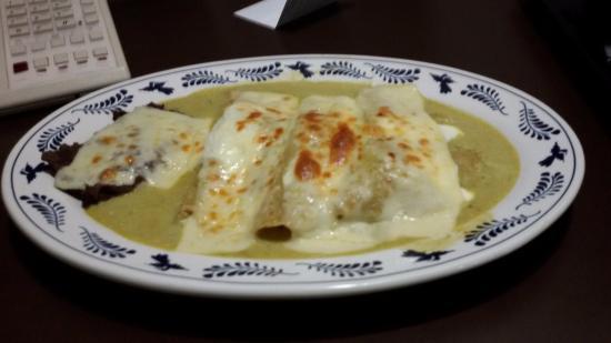 BEST WESTERN Estoril: Unas deliciosas enchiladas suizas