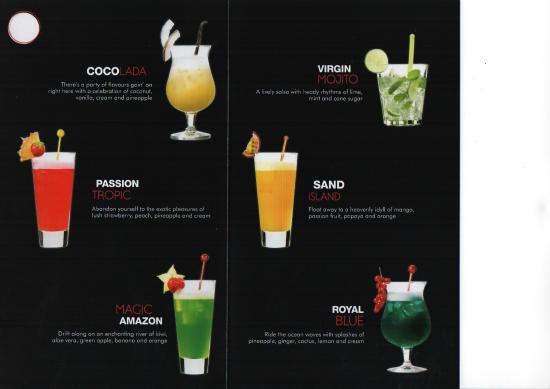 Spicy Mint Restaurant: Mocktails