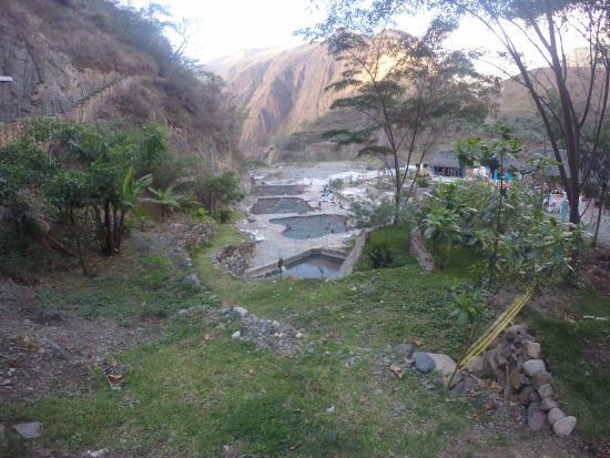 Nuevo Baño De Santa Fe:Banos Termales de Cocalmayo: vista panoramica de cocalmayo