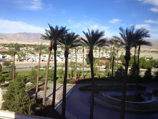 Fantasy Springs Resort Casino: View from our room
