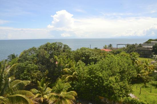 Punta Gorda, Belize: top floor view