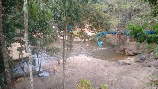 Santa Leopoldina: piscina natural