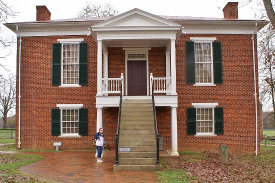 Appomattox Court House National Historical Park: Restored Court House