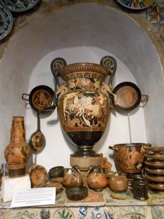 Mastro Cencio: Riproduzione del vaso dell'aurora