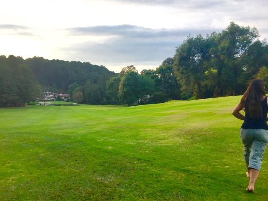 Hotel Avandaro Club de Golf & Spa: caminata en el campo de golf