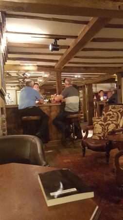 The Crown Inn: the bar