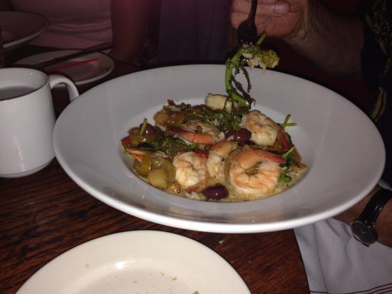 Peasant: The chef's new Asian shrimp dish