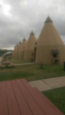 Wharton, TX: Tee Pee Motel
