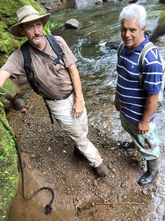 Colonia Virgen del Socorro, Коста-Рика: Bottom of rappel