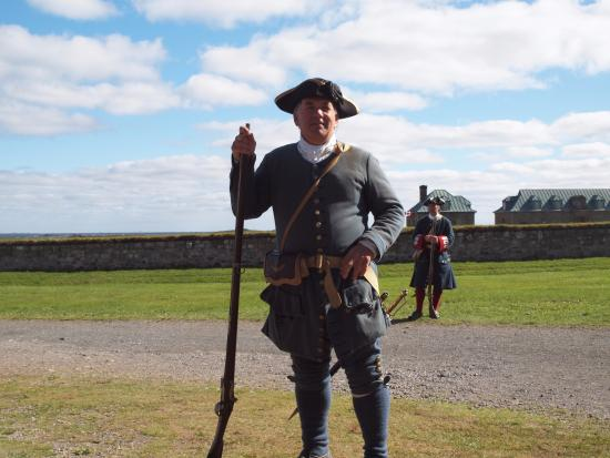 Louisbourg, Canada: Guides tell stories of their personal lives in the period.