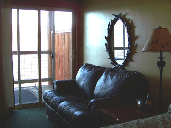 Harrison, ID: Room six -- seating area