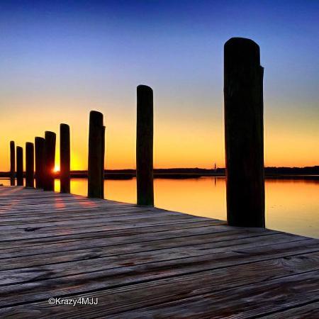 Sunrise at Snug Harbor Marina