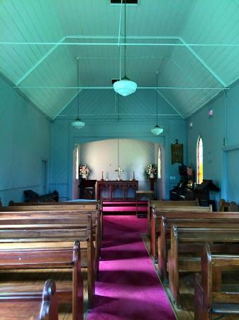 Old Gippstown - Gippsland's Heritage Park: church