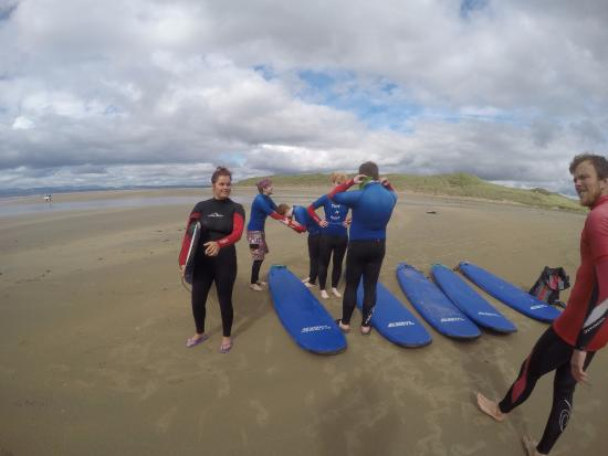 TurfnSurf Lodge & Surf School: surf lessons