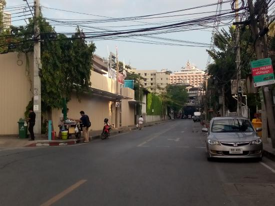 HI-Sukhumvit: Hostel area, Soi 38