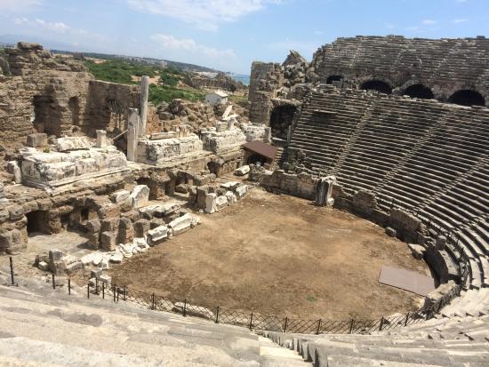 theatre - Bild från Greek Amphitheater, Side - TripAdvisor