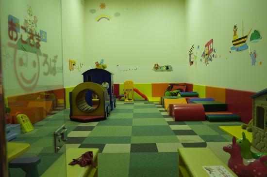 Resort Pia Hakone: Kids's play area in basement of main building