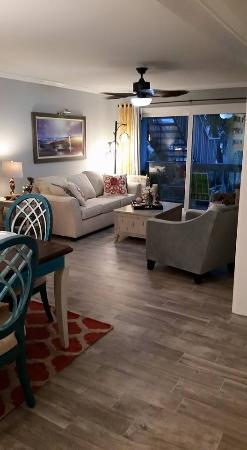 Villas on the Gulf : Living room