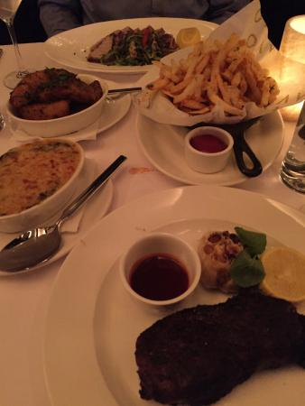 Lavo Restaurant: Our delicious feast