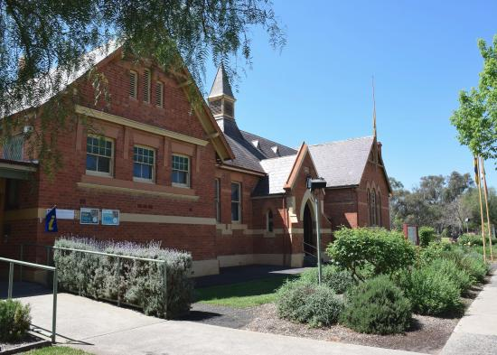 Deniliquin, Australien: Visitor Information Building