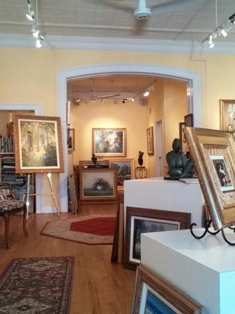 Red Bank, NJ: Art in a beautiful, old building.