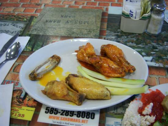 Bath, Nova York: sweet and sour & mild chicken wings