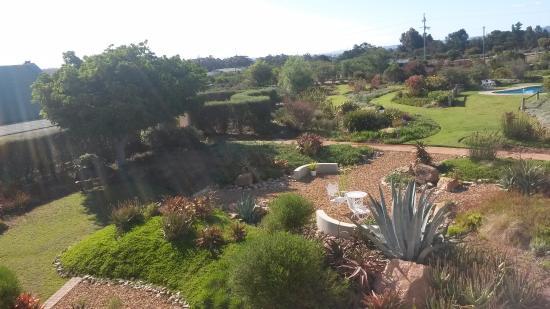Gordon's Bay, Sør-Afrika: Stunning garden area