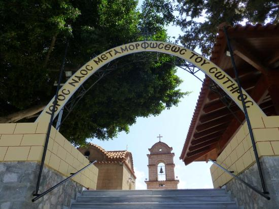 Fanes, Hellas: Main Entrance and Bell Tower