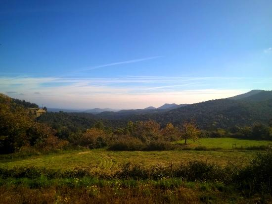 Macanet de Cabrenys, Spanien: The view from the Terrace