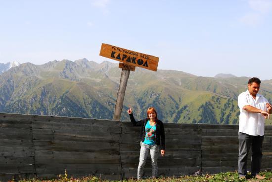 Kirguistán: Летом на горнолыжной базе , высота более 3000 метров над уровнем моря