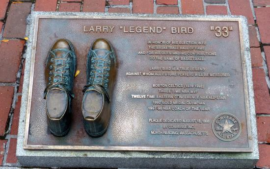 ‪Larry Bird Plaque‬
