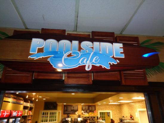 Tropicana Laughlin Poolside Cafe Front Sign