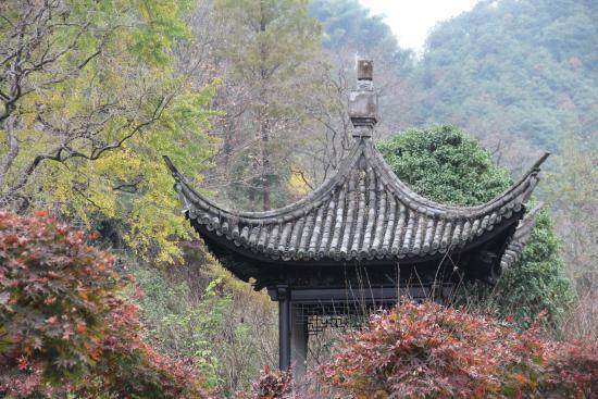 Siming Mountain of Zhejiang: the roof