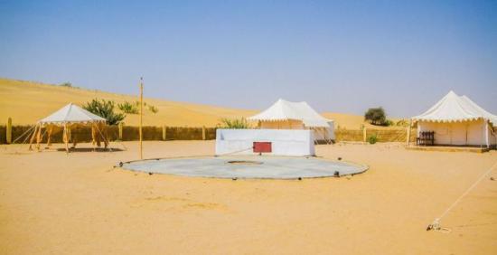 Moonlight Khuri Resort : Tents